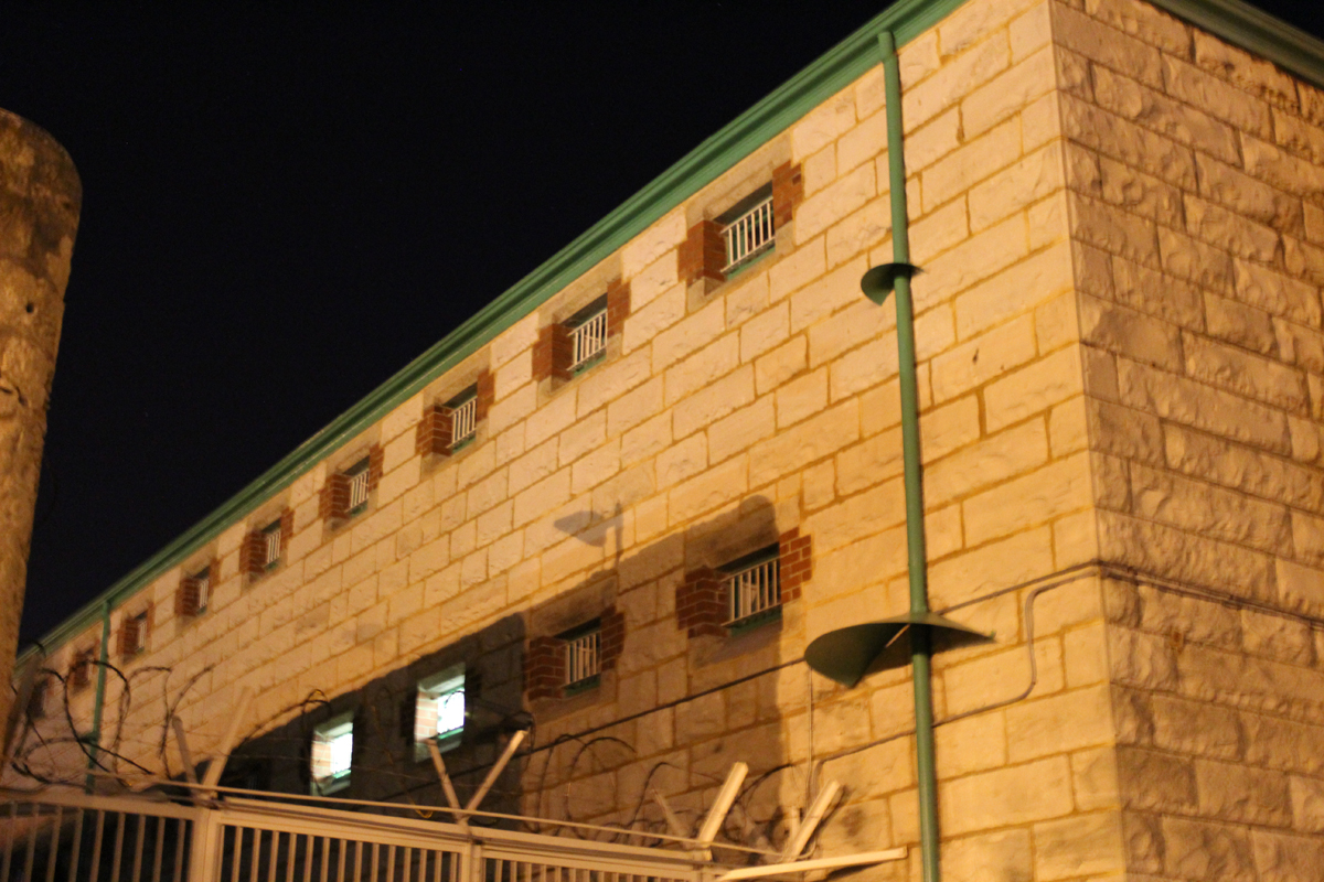 Cells stand three stories high at Fremantle Prison.